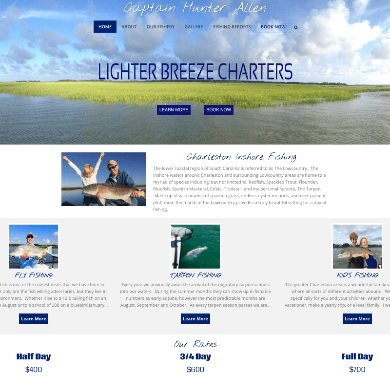 Lighter Breeze Charters
