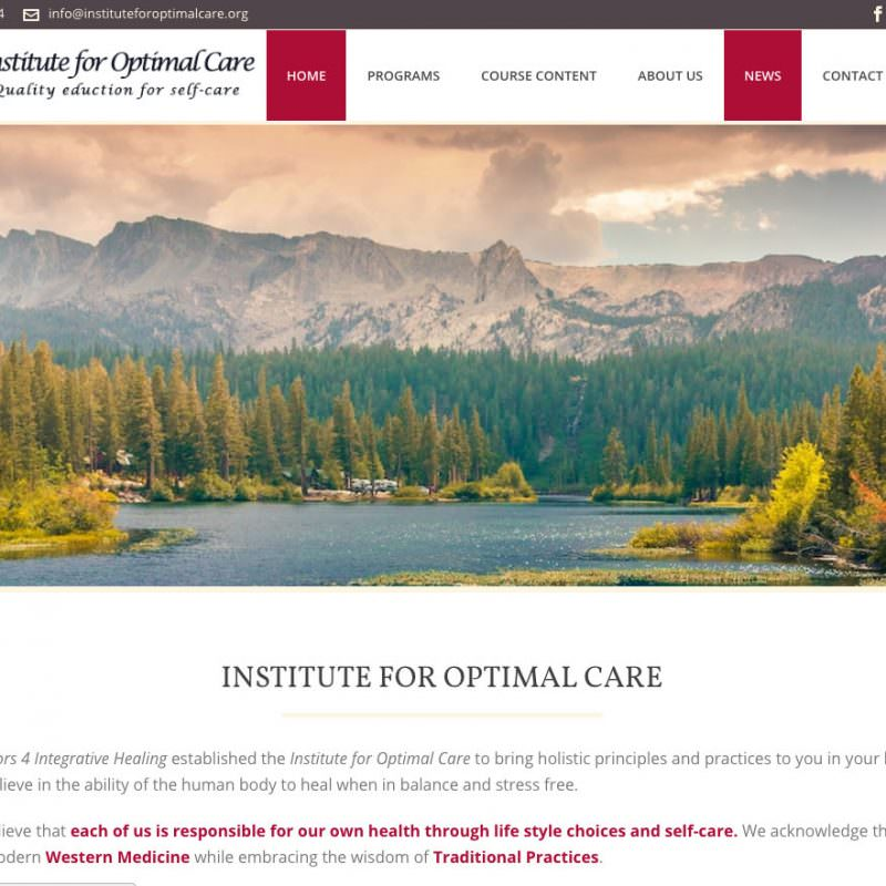 Institute For Optimal Care