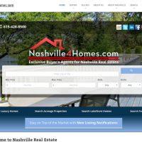 charleston real estate web design