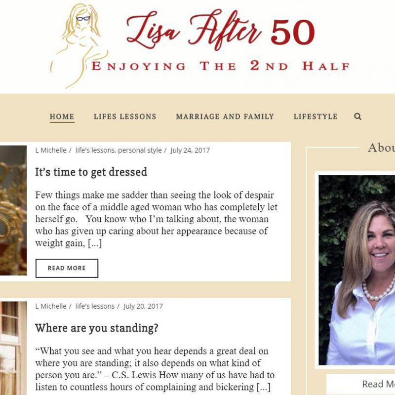 Lisa After 50 Blog